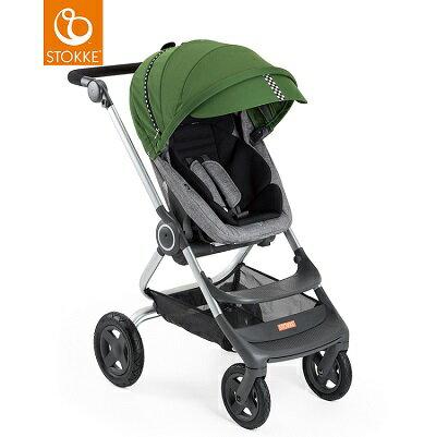 挪威【Stokke】 Scoot 推車專用套件組(賽車風格)-綠色 0