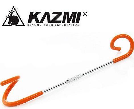 KAZMI/營燈勾/2WAY多功能營燈掛勾 雙頭設計16-32mm營柱多管徑適用 台北山水