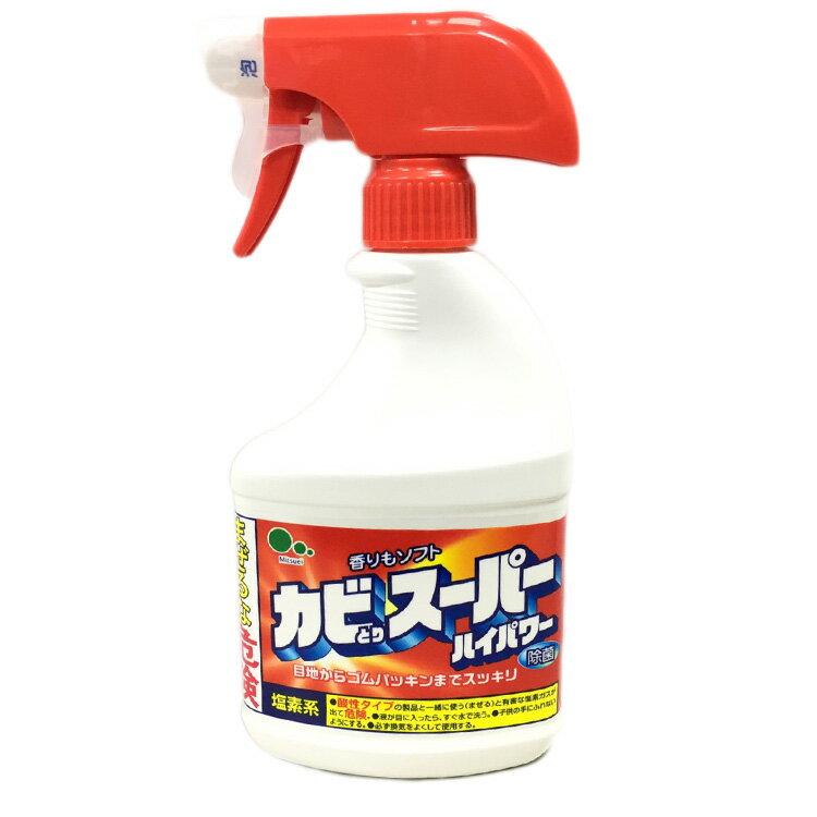 MITSUEI 日本製 浴室除黴清潔劑 除菌清潔劑 除霉去霉清潔劑 除菌泡泡清潔劑400ml 日本進口正版 050107