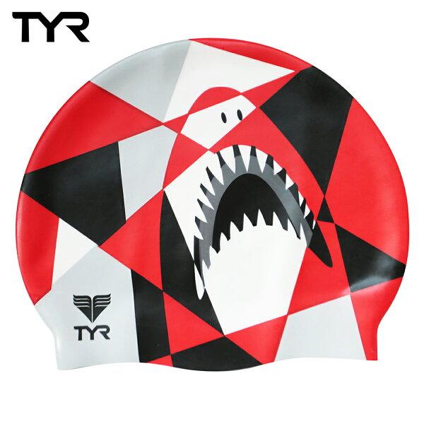 Barracuda1976:美國TYR成人矽膠泳帽Jaws台灣總代理