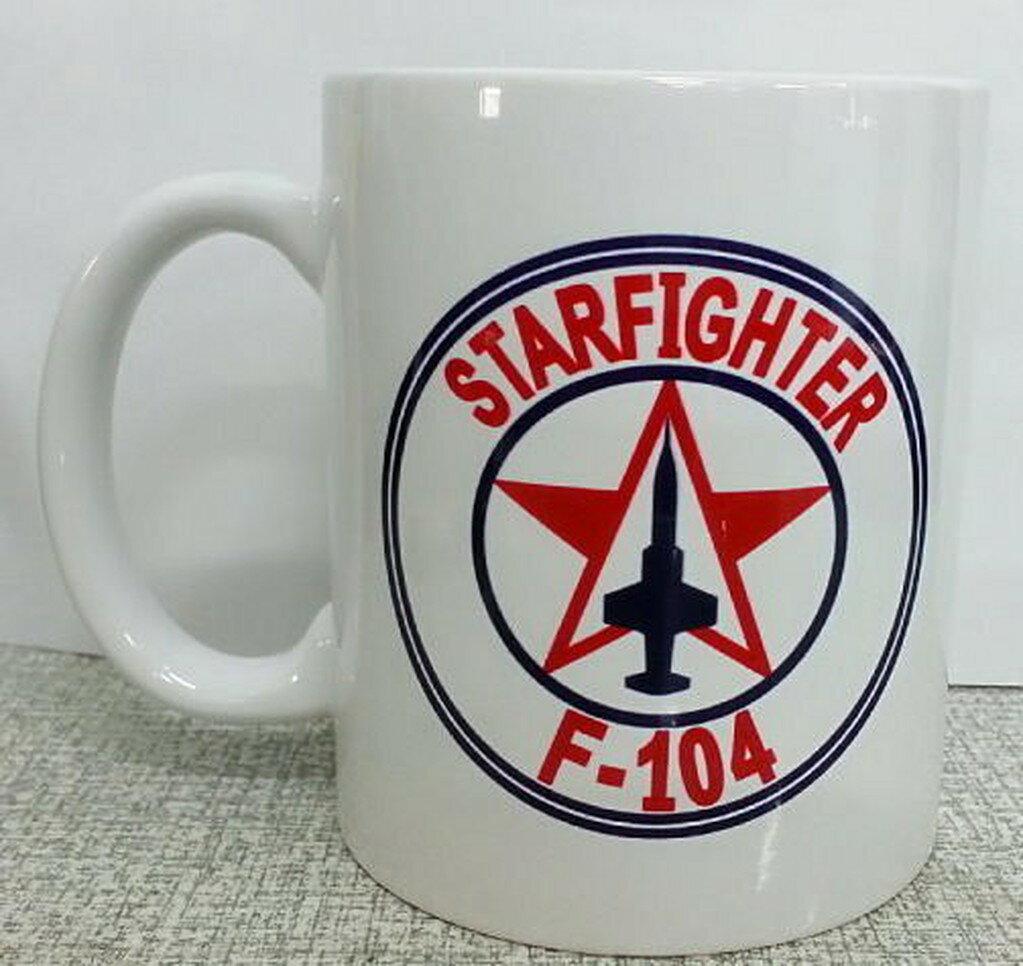 嘎嘎屋 台灣製 馬克杯 客製化 空軍 F-104 J79紀念 馬克杯K43 0