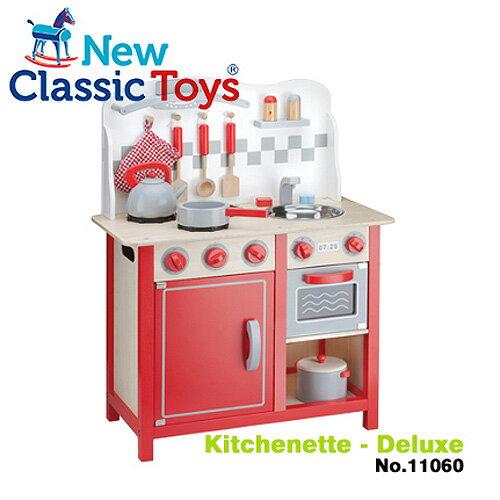 【荷蘭 New Classic Toys】華麗小主廚木製廚房玩具 11060
