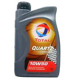 【TOTAL】QUARTZ RACING 10w50 合成機油