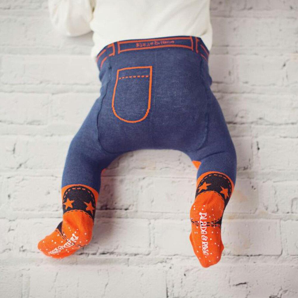 英國Blade & Rose 牛仔橘球鞋褲襪