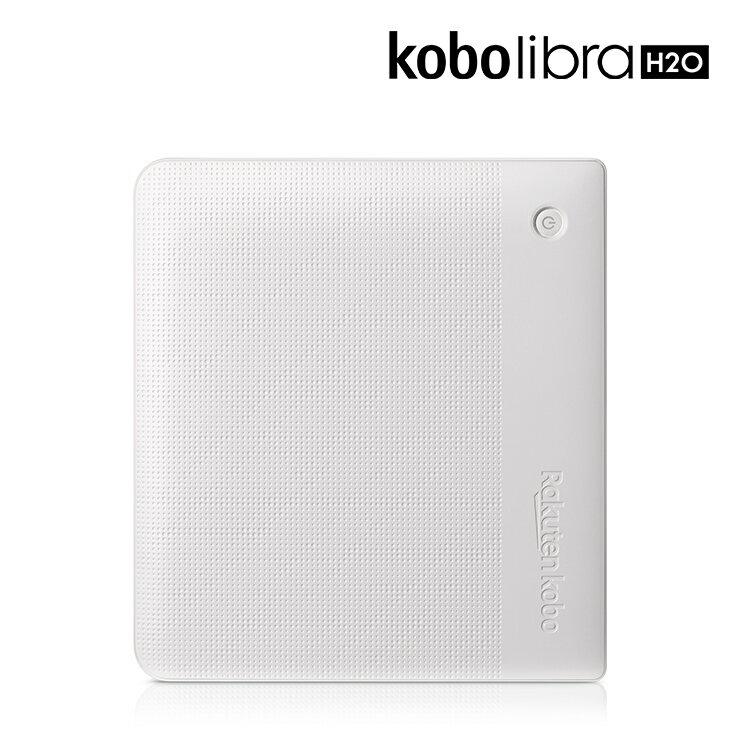 【Libra H2O 7吋電子書閱讀器-白色】 防水x人體工學好持握設計x螢幕四向旋轉X實體翻頁鍵✈免運! 熱銷預購中 4