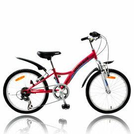 【7號公園自行車】JOKER 傑克牌 A-218 20吋6速炫童車 紅