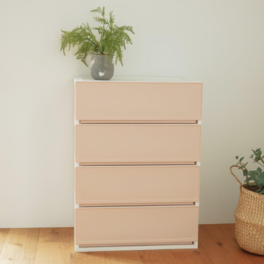 收納櫃/斗櫃/衣櫃 韓國SHABATH Pure極簡主義收納四層櫃60CM 完美主義 【G0012】