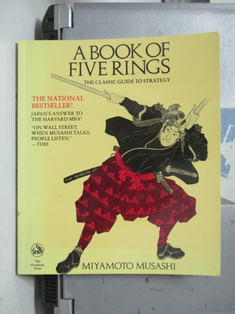 ~書寶 書T6/原文書_OSJ~A Book of Five Rings_Musashi
