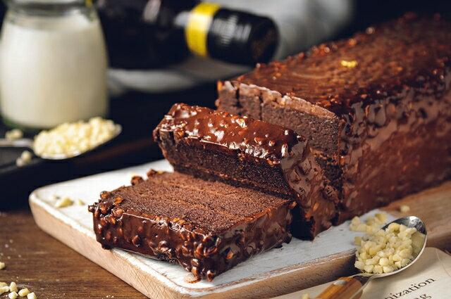 70%比利時黑巧克黑金磚【免運】-70%濃郁巧克力外皮、蛋糕體、內餡,與杏仁碎果的美味交融★樂天歡慶母親節滿499免運 2