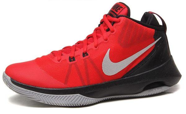 NIKE Air Versitile 男鞋 籃球鞋 室外 氣墊 高筒 紅 黑 銀 【運動世界】 852431-600