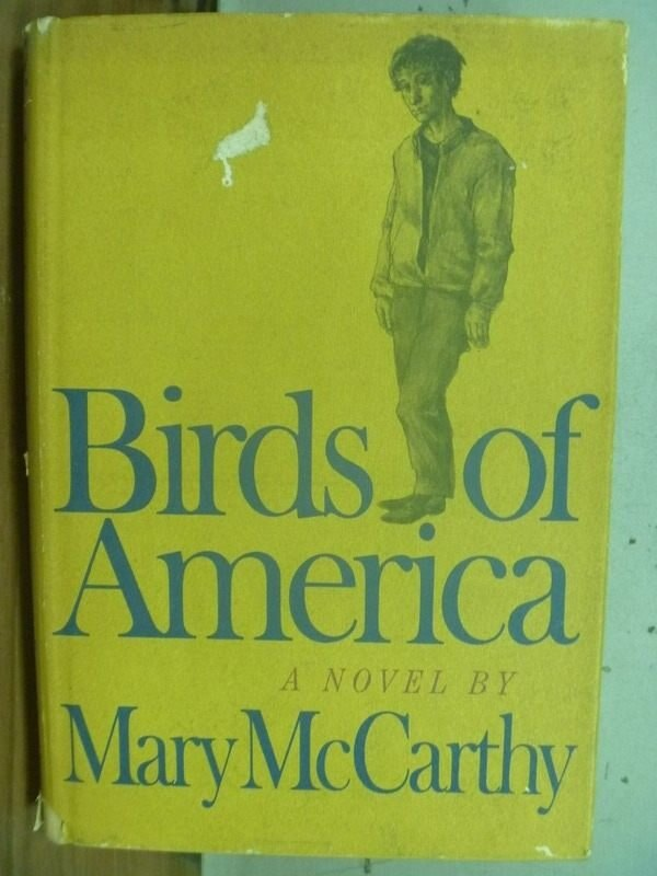 【書寶二手書T6/原文小說_HKW】Birds of america_Mary McCarthy