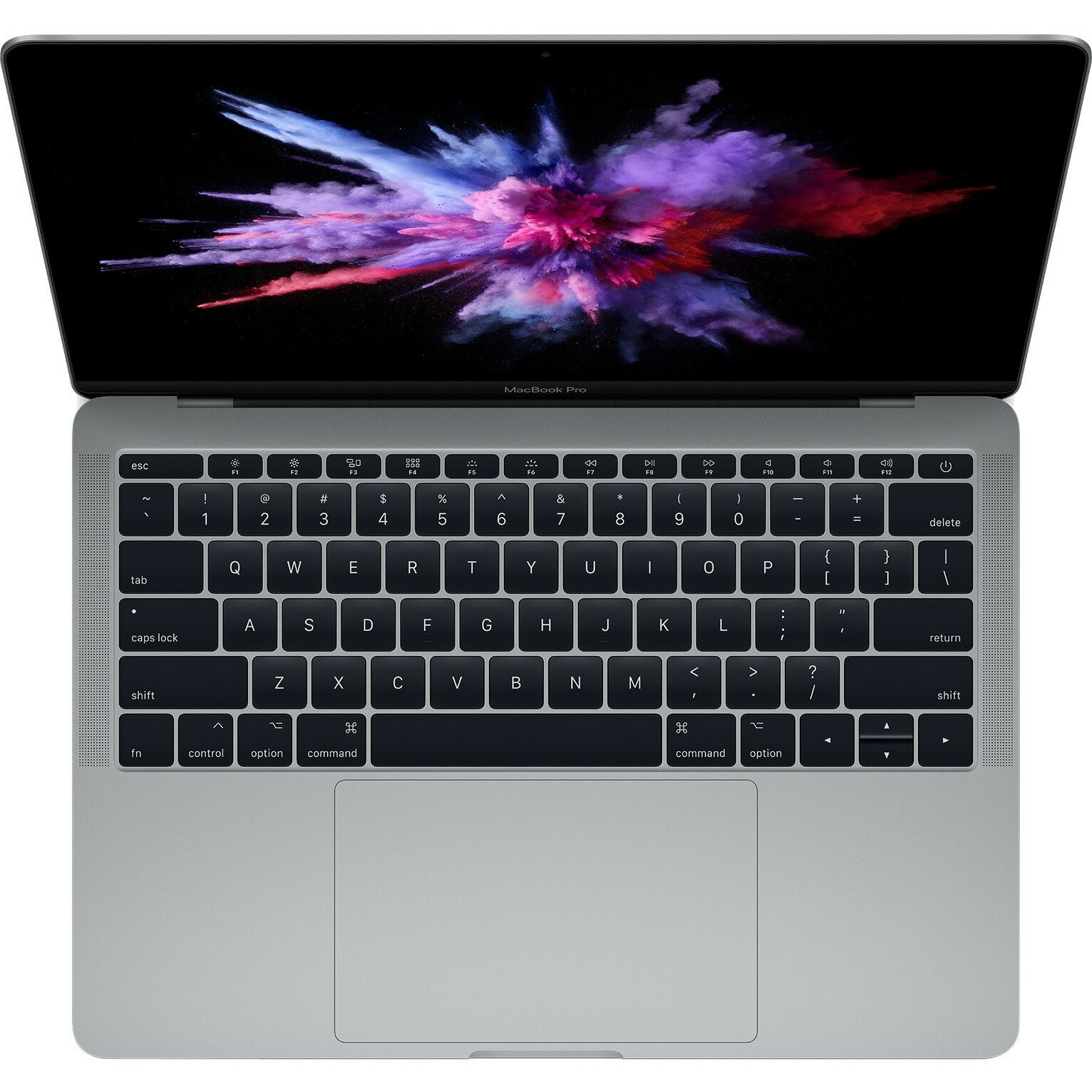 "Apple MacBook Pro MPXQ2LL/A 13.3"" LCD Notebook - Intel Core i5 (7th Gen) Dual-core (2 Core) 2.30 GHz - 8 GB LPDDR3 - 128 GB SSD - Mac OS Sierra - 2560 x 1600 - In-plane Switching (IPS) Technology - Space Gray - Intel Iris Plus Graphics 640 LPDDR3 - Blueto 0"