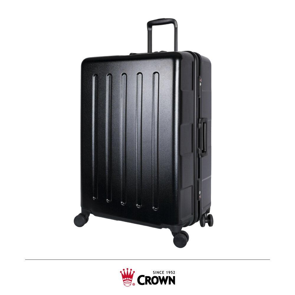 【加賀皮件】CROWN 皇冠 MAX 正方 大容量 多色 框箱 TSA海關鎖 拉桿箱 旅行箱 27吋 行李箱 C-FD133