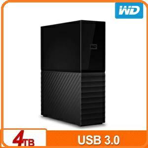 WD My Book 4TB 3.5吋USB3.0外接硬碟 WDBBGB0040HBK-SESN
