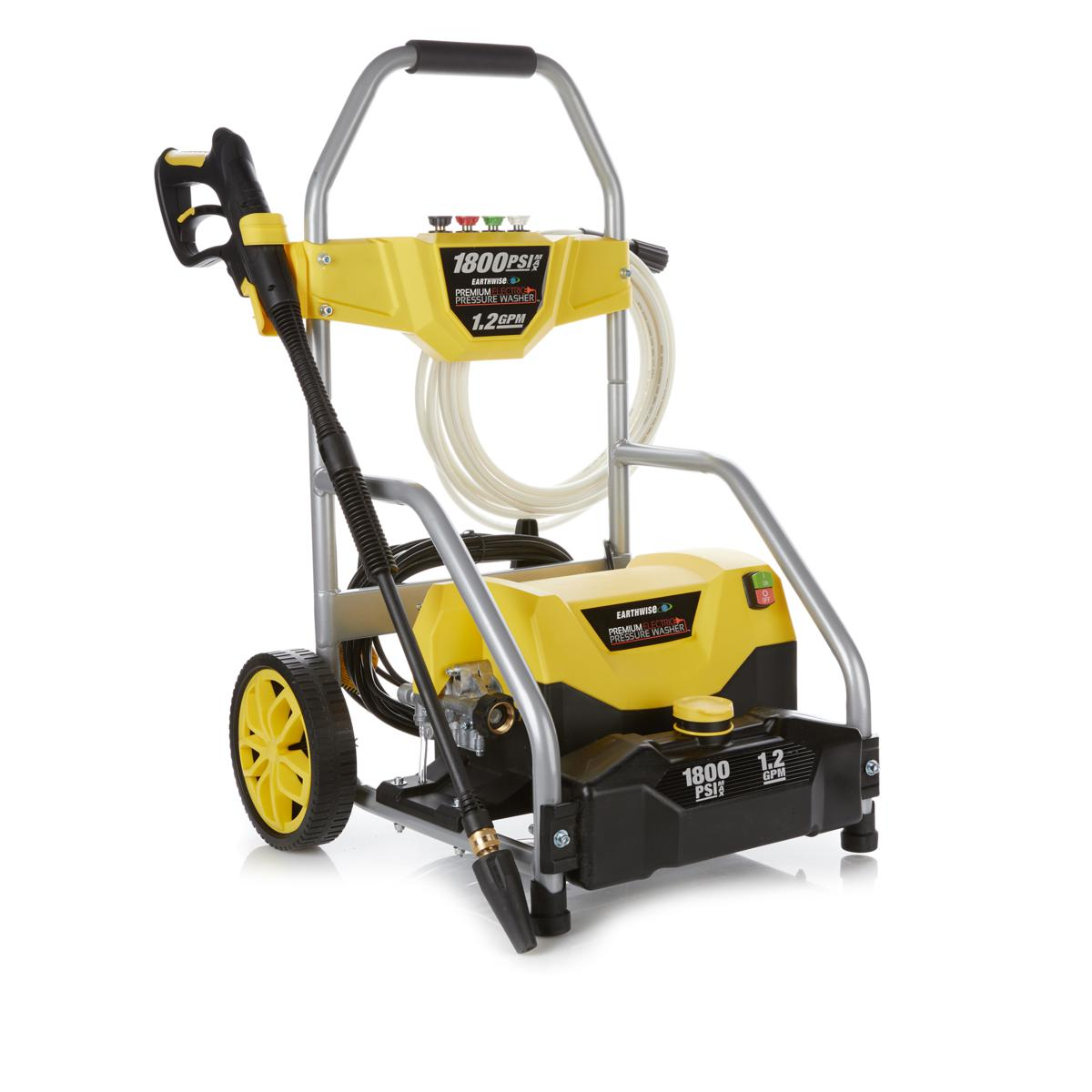 EARTHWISE 1800 PSI Electric Pressure Washer with Turbo Wand