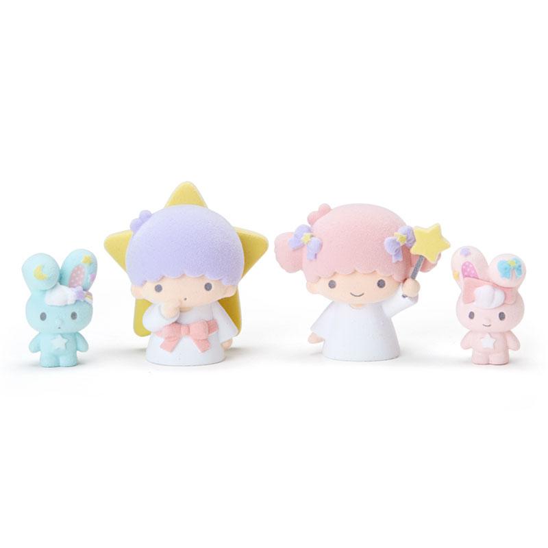 【真愛日本】17122100029 生日限定紀念植毛公仔組-TS與兔ABR 三麗鷗 kikilala 雙子星 公仔