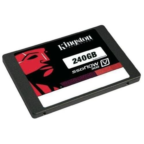 "Kingston SSD V300 Series 240GB SSDNow 2.5"" SATA III 6Gb/s 7mm Internal Solid State Drive SV300S37A/240G + USB 3.0 4-Port Hub 0"