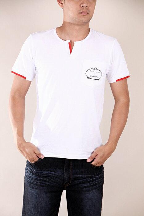 【CS衣舖 】韓系 合身版 萊卡彈力 短袖T恤 3204 2