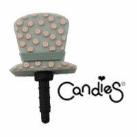 【Candies】高帽灰-耳機塞