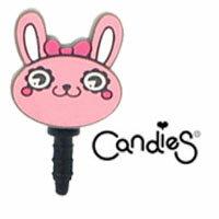 【Candies】奶油兔子-耳機塞
