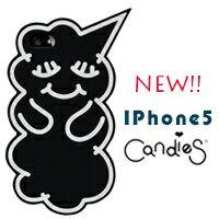 FENICE:【Candies】睡眠寶寶(黑)-IPhone5/5S/5C/SE