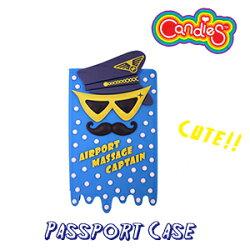 【Candies】馬殺雞英雄護照夾(藍)