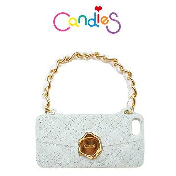 【Candies】晚宴包(淡綠磨砂)-IPhone 5/5S/5C/SE
