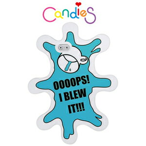 【Candies】OOOOPS I  BLEW IT(藍)手機殼-IPhone6  4.7inch