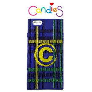 ~Candies~繽紛直條格^(藍^)IPhone 6 Plus 可愛上市^!^! ~