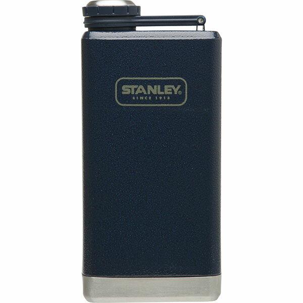 ├登山樂┤ 美國 Stanley SS Flask 經典酒壺 0.24L - 錘紋藍 #10-01564-002