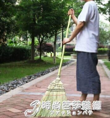 藝帚 藝之初 日式庭院掃把 長柄高粱大掃帚 戶外竹掃把 掃落葉掃雨雪 特惠九折