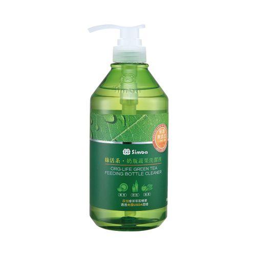 ★衛立兒生活館★小獅王辛巴 Simba 綠活系奶瓶蔬果洗潔液-800ml(S2241)