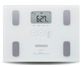 OMRON歐姆龍體脂肪機 HBF-216(白色),限量加贈歐姆龍運動毛巾及專用提袋