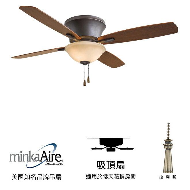 <br/><br/>  [top fan] MinkaAire Mojo II 52英吋吸頂扇附燈(F533-ORB)油銅色<br/><br/>