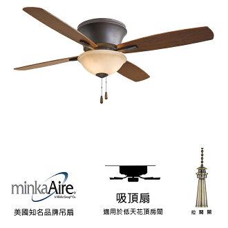 [top fan] MinkaAire Mojo II 52英吋吸頂扇附燈(F533-ORB)油銅色