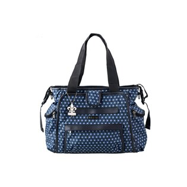 小奶娃婦幼用品:Kalencom-時尚媽媽包托特系列點點藍