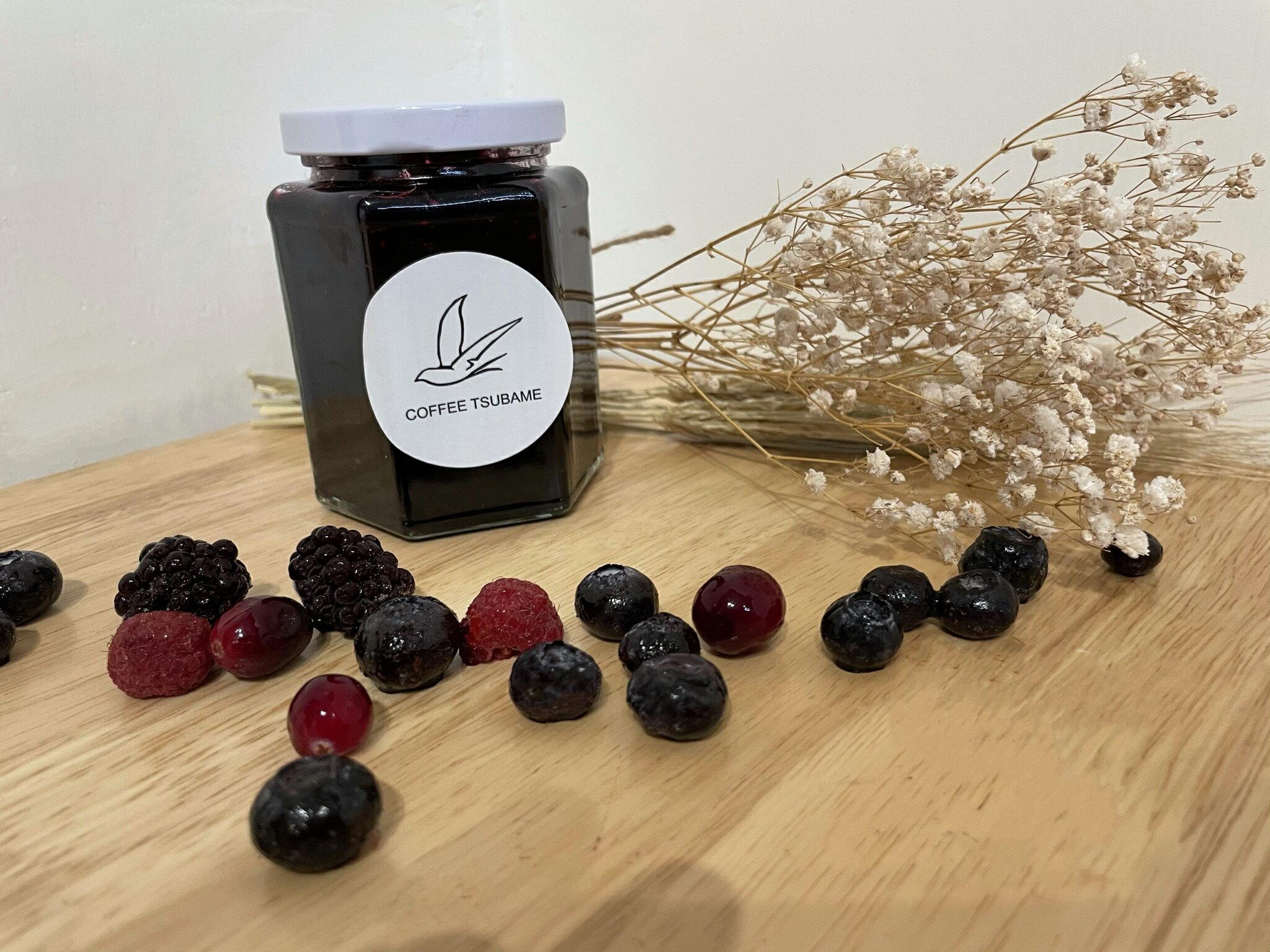 手工製作果醬  四種野莓醬  300克/罐