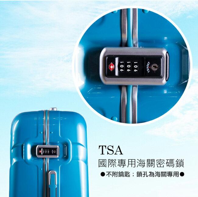 【eminent萬國通路】20吋雷斯特 極致鋁合金淺鋁框PC行李箱 luggage 登機箱(9L6暗巖藍)【威奇包仔通】 2