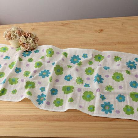 taoru 日本毛巾 和心傳_花遊 34*84cm (長巾、紗布毛巾)
