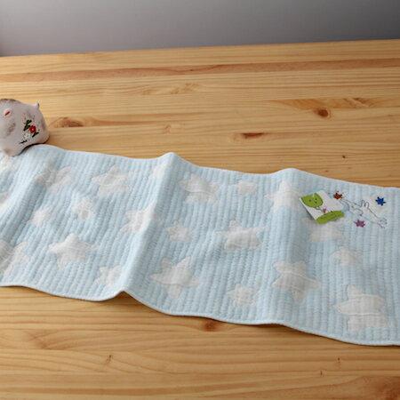 【taoru】星星的願望|許願小象-日本毛巾24x70cm(長巾、紗布巾)–夜幕低垂,繁星漸上,你想許什麼願望呢?