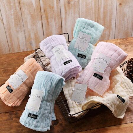 【taoru】KI・RA・RA - 日本毛巾 25x25cm (手巾、紗布巾) – 擁有珍珠般閃耀光澤的夢幻珍品