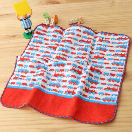 日本毛巾 : 町娘物語 蒸氣火車 25*25 cm (手巾 -- taoru 日本毛巾)
