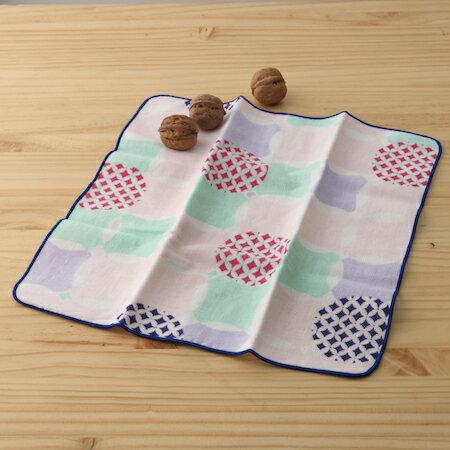 taoru 日本毛巾 和的風物詩_花七寶 30*30cm (仕女手巾 紗布毛巾 好日子)