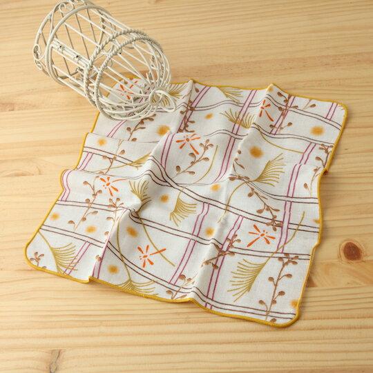 taoru 日本毛巾 和的風物詩_秋香 30*30 cm (仕女手巾 紗布毛巾 秋時)