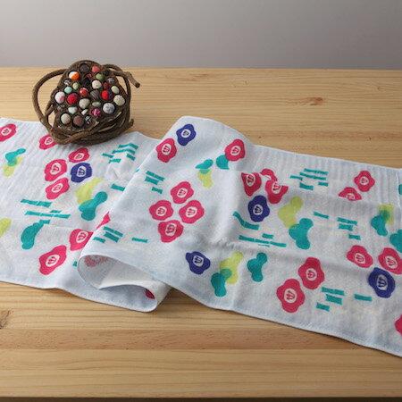 taoru 日本毛巾 和的風物詩_松竹梅 34*90 cm (長巾 紗布毛巾 好日子)