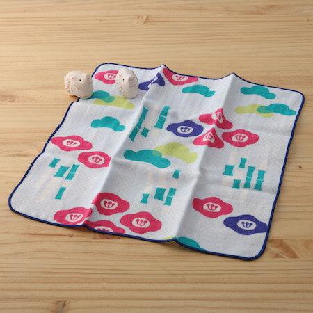 taoru 日本毛巾 和的風物詩_松竹梅 30*30 cm (仕女手巾 紗布毛巾 好日子)