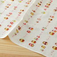 銀髮族用品與保健taoru 日本毛巾 和的風物詩_俄羅斯娃娃 55*115 cm (浴巾 紗布毛巾 小涼被 可愛世界)