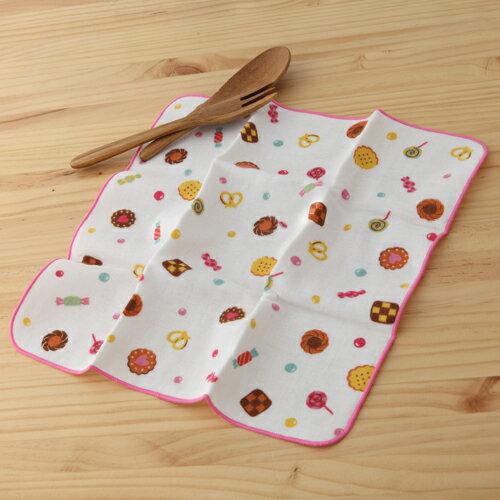 taoru 日本毛巾 和的風物詩_點心時間 30*30 cm (仕女手巾 紗布毛巾)