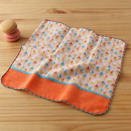 taoru 毛巾 町娘_義大利冰淇淋 25^~25 cm ^(仕女手巾 紗布毛巾 環遊世界