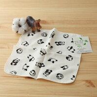 愚人節 KUSO療癒整人玩具周邊商品推薦【taoru】動物趴趴走  貓熊咚咚- 日本毛巾 23x23cm (手巾、紗布毛巾) – 真想和小熊貓在家裡一起滾來滾去
